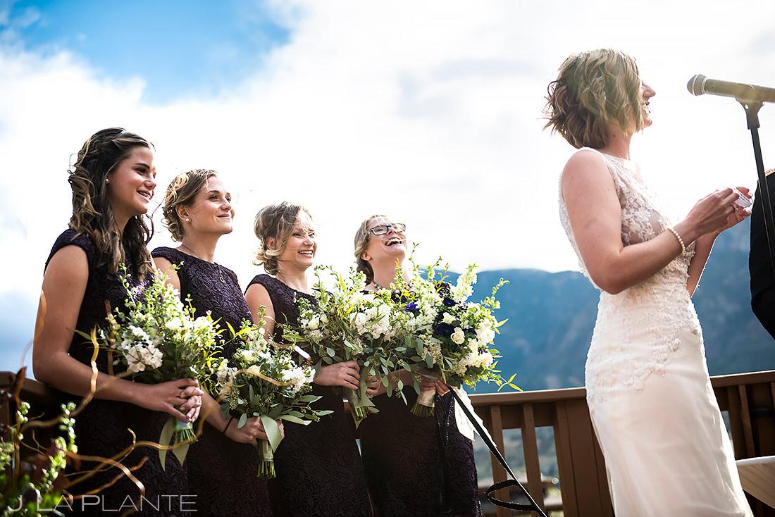 Mountain Wedding Ceremony | Colorado Springs Wedding Photographer | J. La Plante Photo