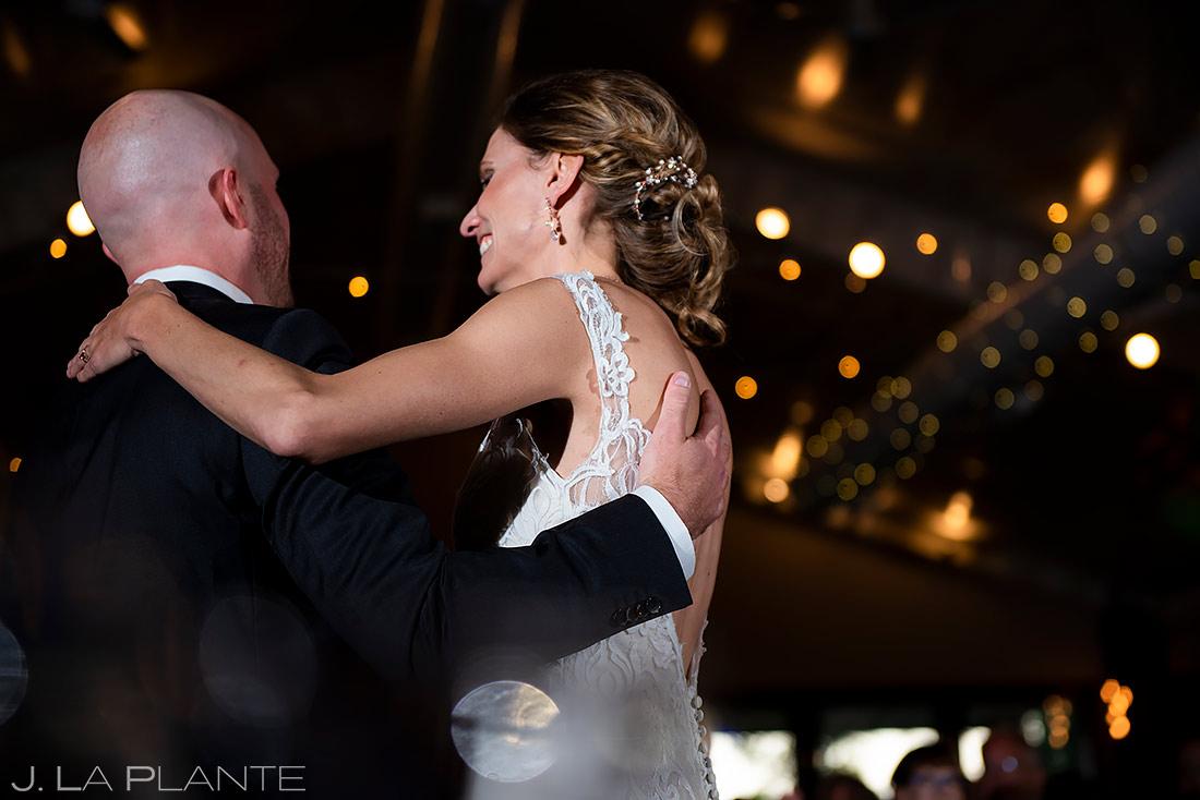 Bride and Groom First Dance   Shupe Homestead Wedding   Boulder Wedding Photographer   J. La Plante Photo
