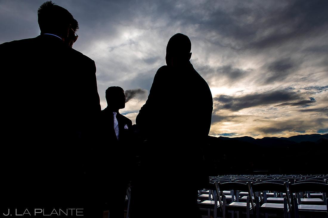 Wedding Guests at Cocktail Hour | Colorado Springs Wedding Photographer | J. La Plante Photo