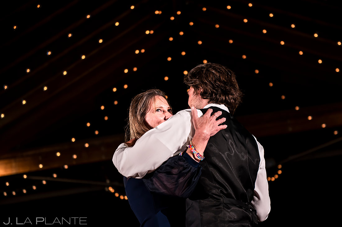 Mother Son Dance | Planet Bluegrass Wedding | Boulder Wedding Photographer | J. La Plante Photo