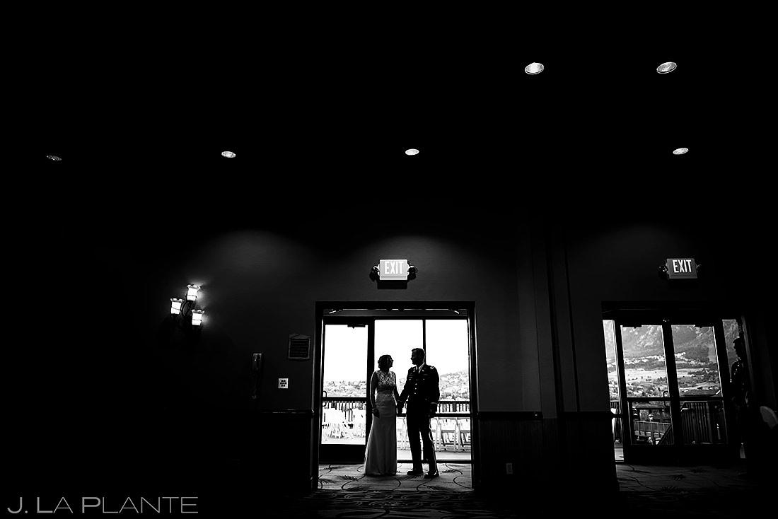 Bride and Groom Entrance | Colorado Springs Wedding Photographer | J. La Plante Photo