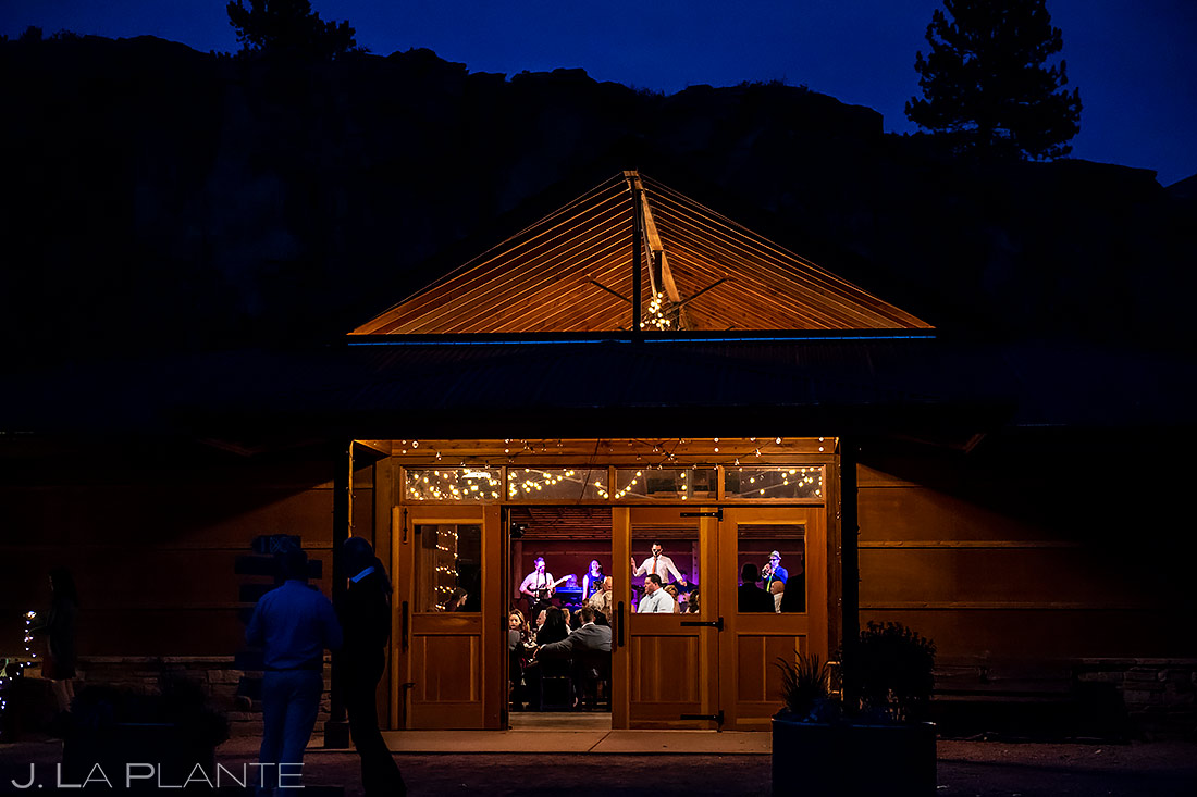 Wedding Reception Live Band | Planet Bluegrass Wedding | Boulder Wedding Photographer | J. La Plante Photo