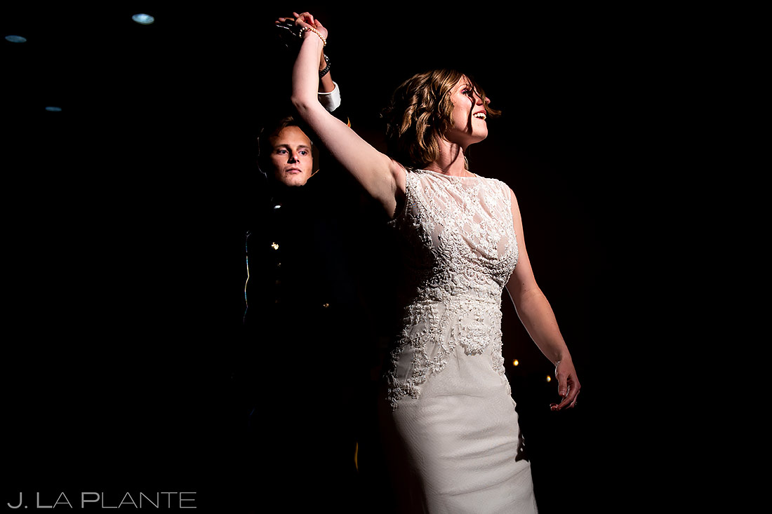 Bride and Groom First Dance | Colorado Springs Wedding Photographer | J. La Plante Photo