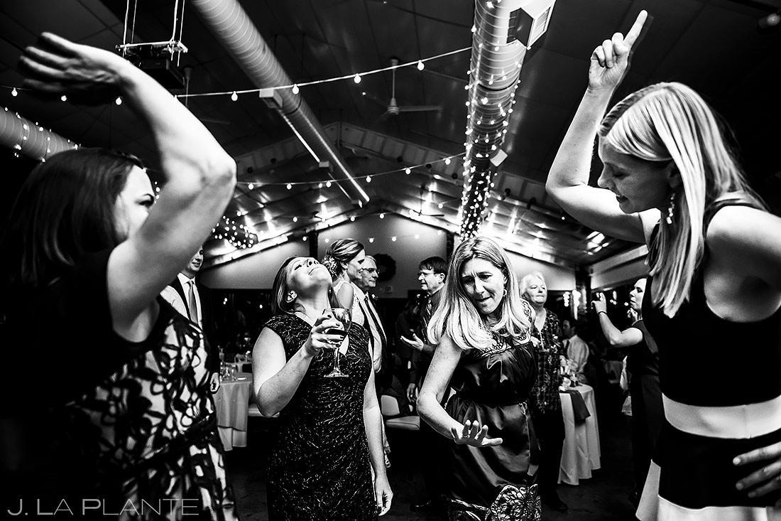 Wedding Reception Dance Party   Boulder Wedding Photographer   J. La Plante Photo