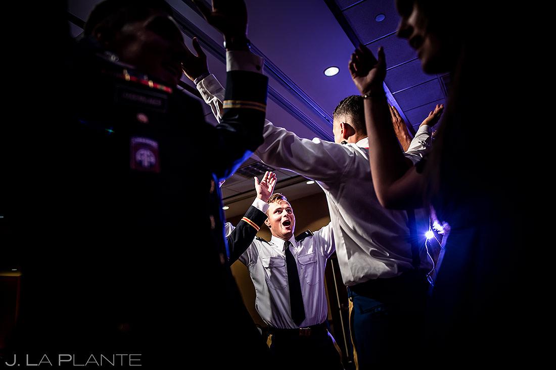Wedding Reception Dance Party | Cheyenne Mountain Resort Wedding | Colorado Springs Wedding Photographer | J. La Plante Photo