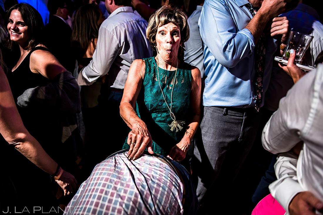 Crazy Wedding Dance Party | Camp Hale Wedding | Vail Wedding Photographer | J. La Plante Photo