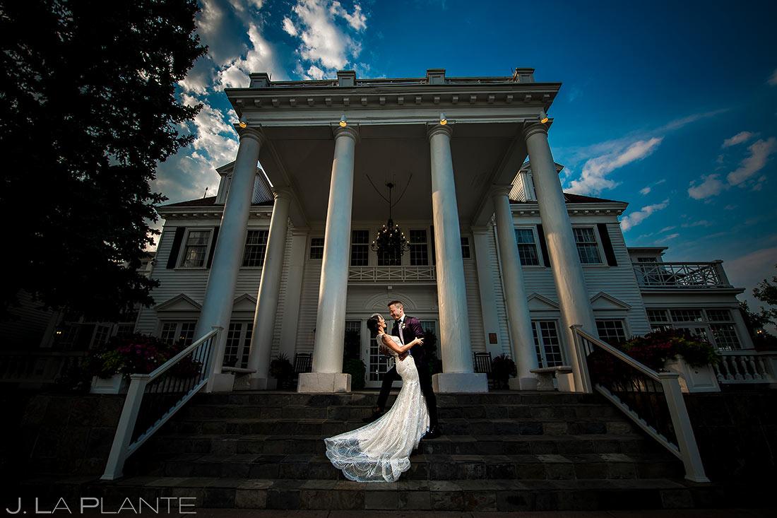 Cool Wedding Dress Photo | Manor House Wedding | Denver Wedding Photographer | J. La Plante Photo