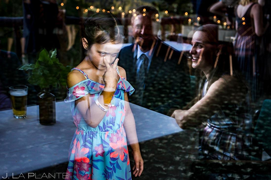 Funny Wedding Kids | Dao House Wedding | Estes Park Wedding Photographer | J. La Plante Photo