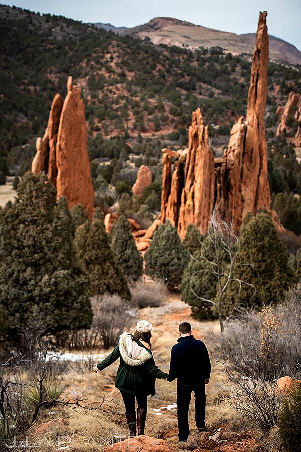 Garden of the Gods Engagement | Colorado Springs Engagement | Colorado Springs Wedding Photographer | J. La Plante Photo