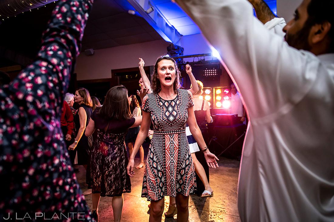 Wedding Reception Dance Party | Shupe Homestead Wedding | Boulder Wedding Photographer | J. La Plante Photo