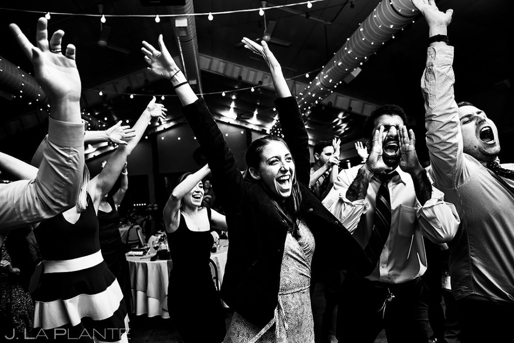 Wedding Reception Dance Party | Shupe Homestead Wedding | Boulder Wedding Photographer | J. La Plante Photo