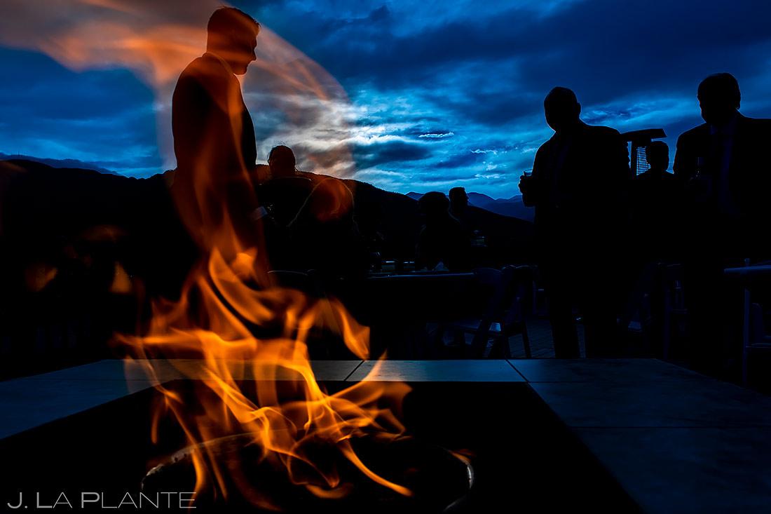 Cocktail Hour Details | Cheyenne Mountain Resort Wedding | Colorado Springs Wedding Photographer | J. La Plante Photo
