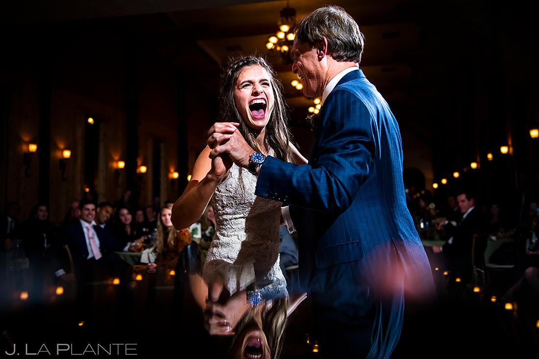 Father Daughter Dance | Crooked Willow Farms Wedding | Colorado Wedding Photographer | J. La Plante Photo