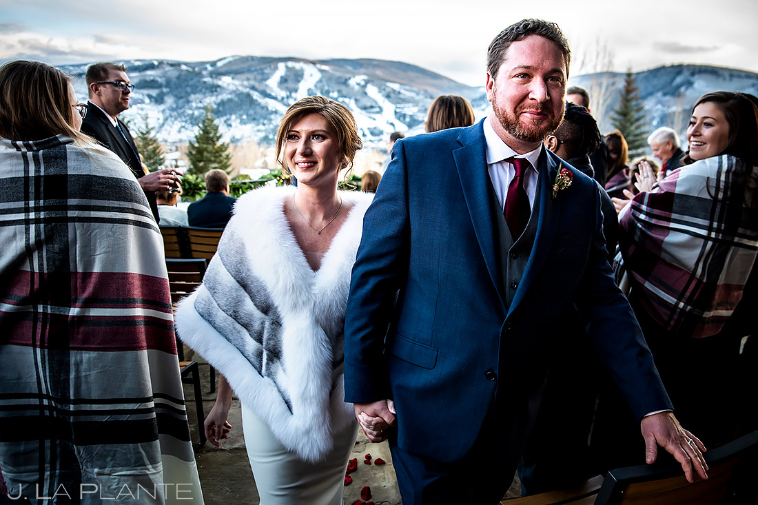 Mountain Wedding Ceremony   Sonnenalp Club Wedding   Beaver Creek Wedding Photographer   J. La Plante Photo
