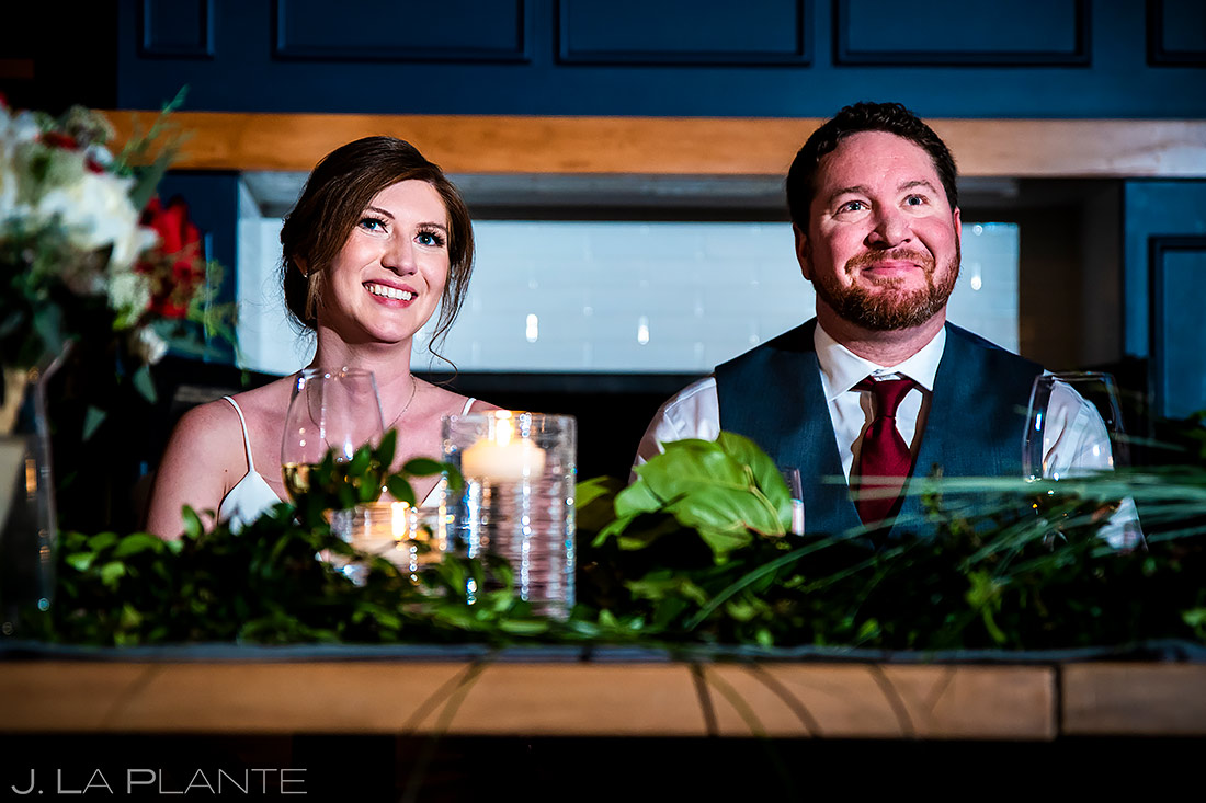 Wedding Toasts   Sonnenalp Club Wedding   Beaver Creek Wedding Photographer   J. La Plante Photo