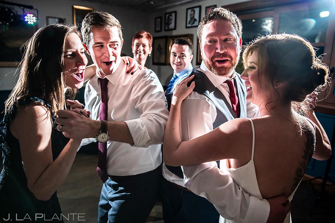 Wedding Reception Dance Party   Beaver Creek Wedding   Beaver Creek Wedding Photographer   J. La Plante Photo