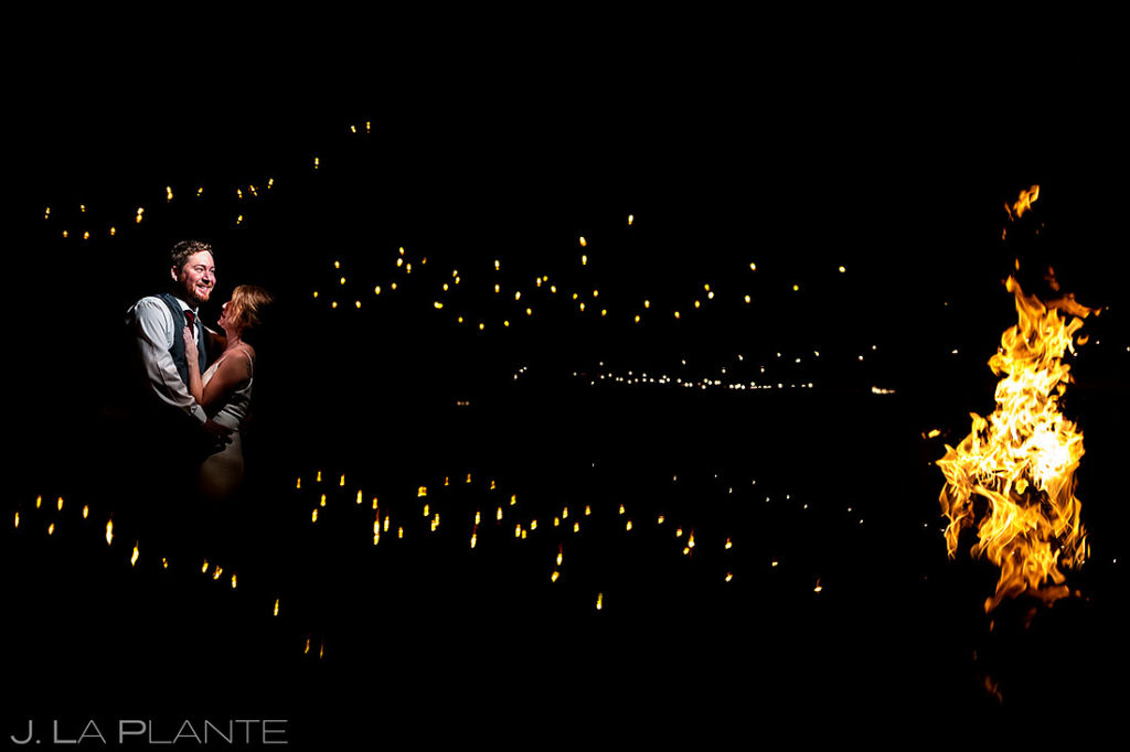 Bride and Groom Portrait | Sonnenalp Club Wedding | Beaver Creek Wedding Photographer | J. La Plante Photo