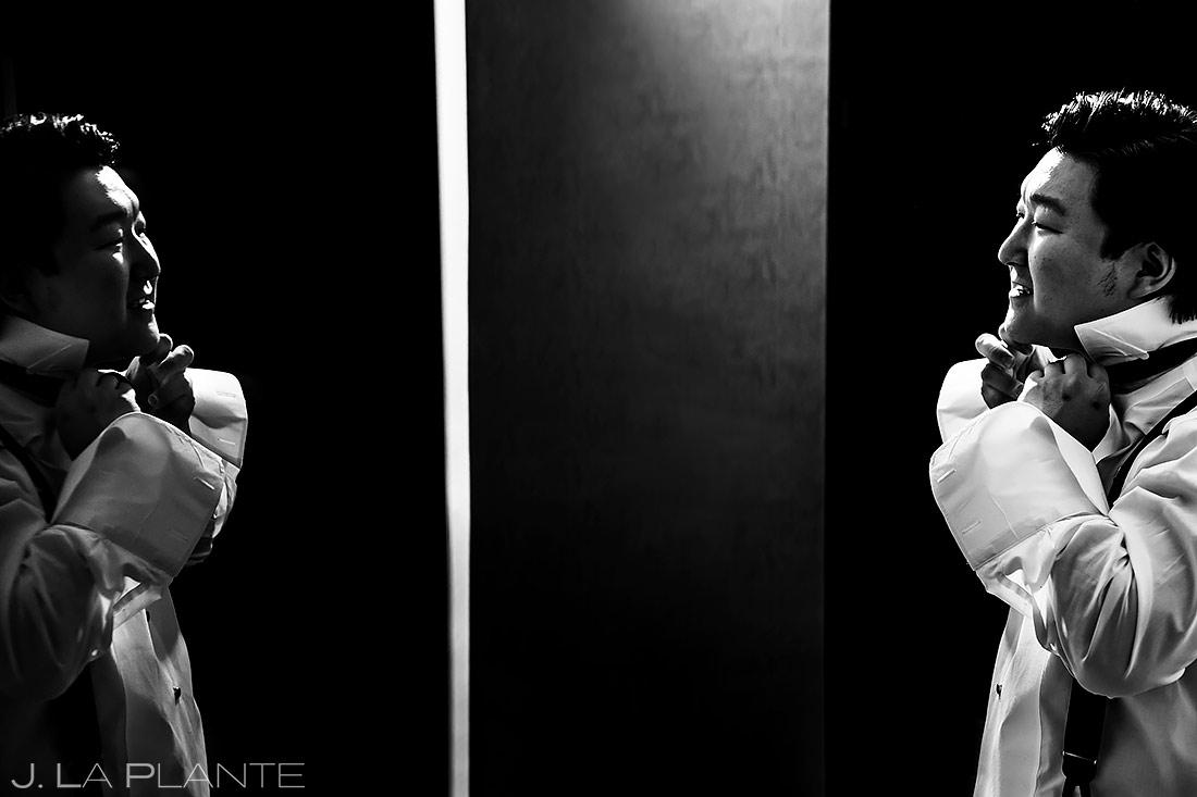 Groom Getting Ready | University of Maryland Wedding | Destination Wedding Photographer | J. La Plante Photo