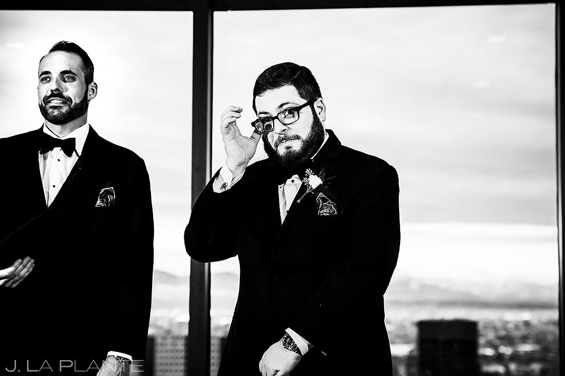 Urban Wedding Ceremony | Urban Wedding in Colorado | Colorado Wedding Photographer | J. La Plante Photo