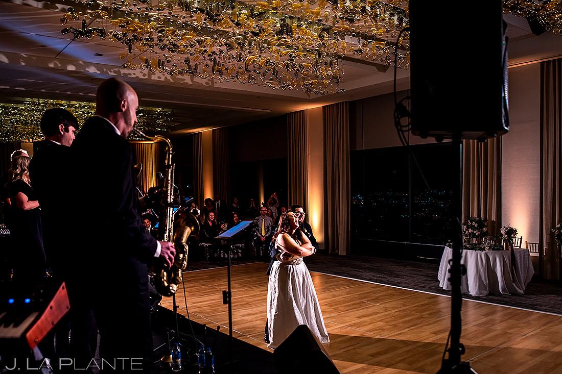Bride and Groom First Dance | Downtown Denver Wedding | Denver Wedding Photographer | J. La Plante Photo