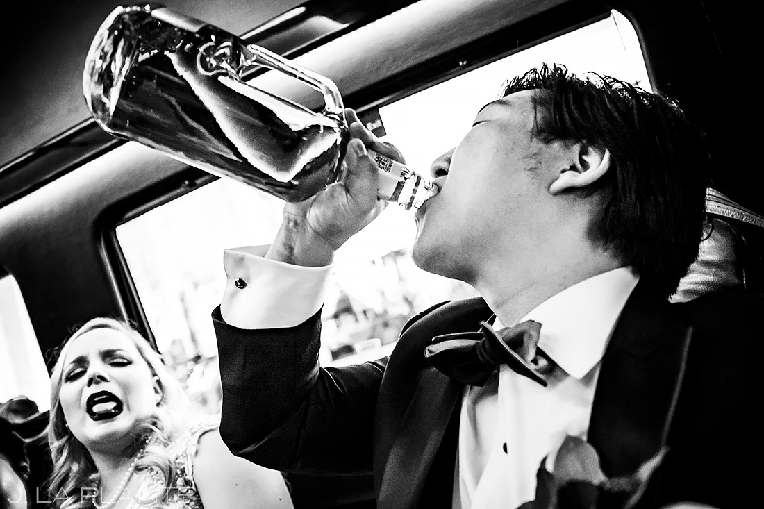 Groom Drinking Fireball | Washington DC Wedding | Destination Wedding Photographer | J. La Plante Photo