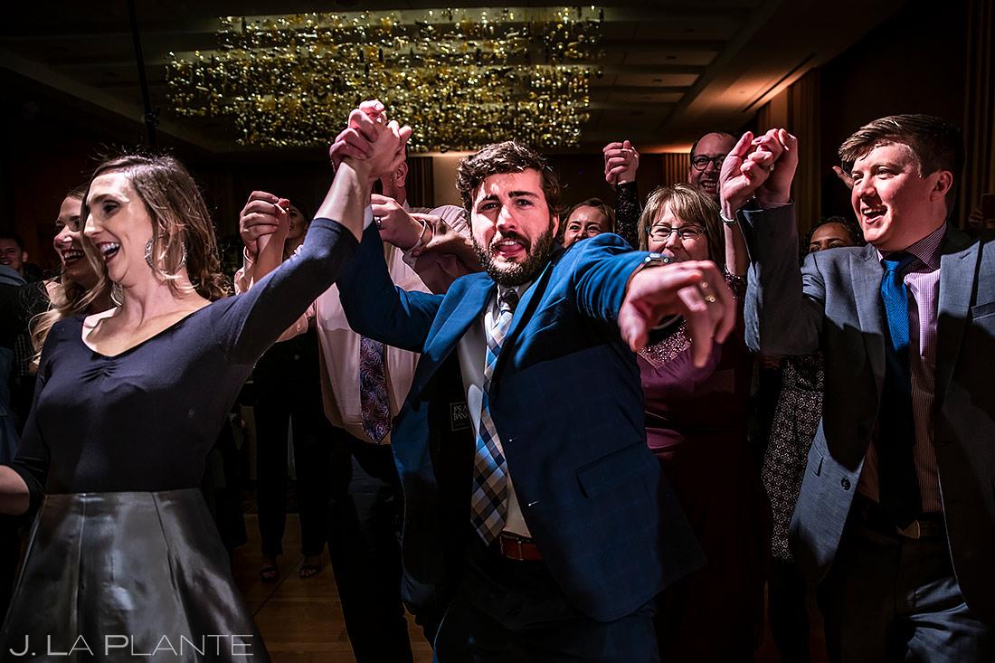 Wedding Reception The Hora | Urban Wedding in Colorado | Colorado Wedding Photographer | J. La Plante Photo