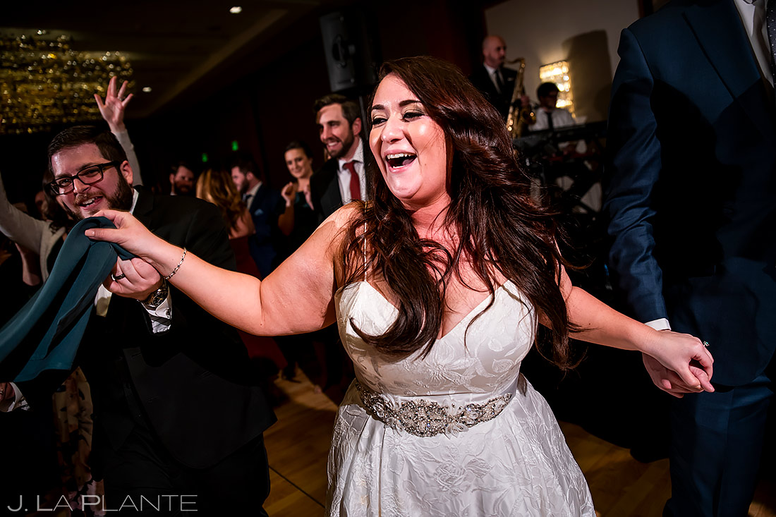 Wedding Reception The Hora | Downtown Denver Wedding | Denver Wedding Photographer | J. La Plante Photo