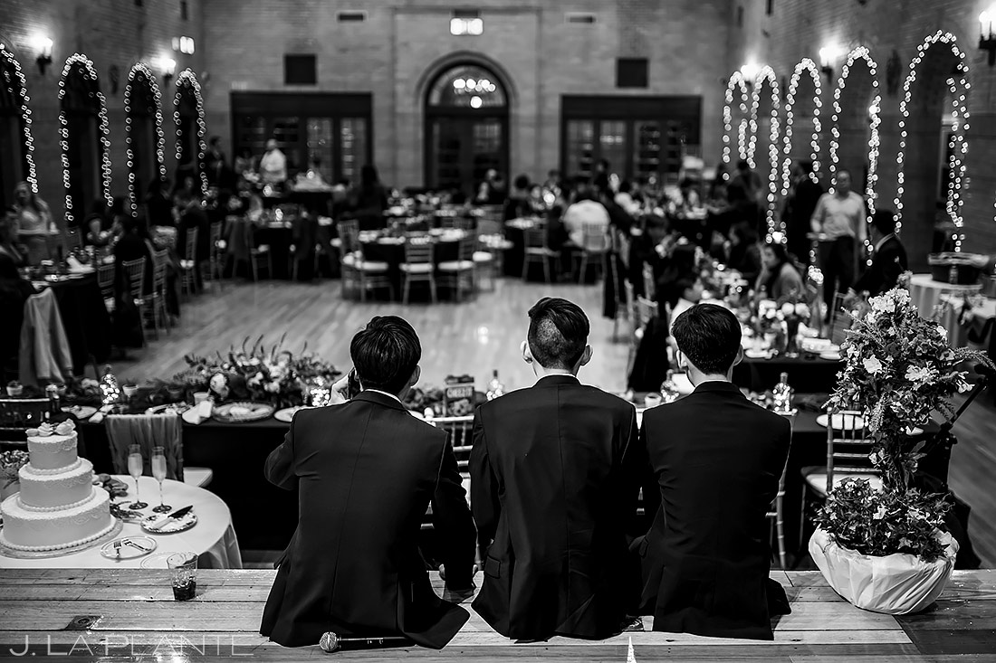 Urban Wedding Reception | Washington DC Wedding | Destination Wedding Photographer | J. La Plante Photo