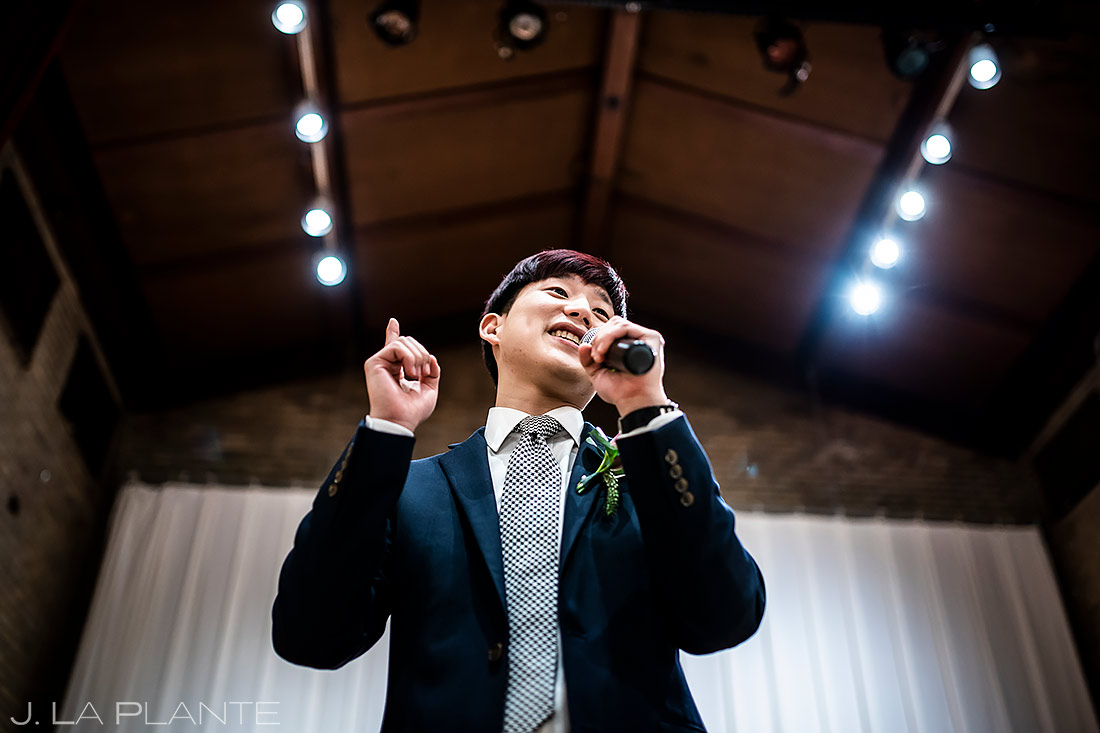 Best Man Speech | Washington DC Wedding | Destination Wedding Photographer | J. La Plante Photo