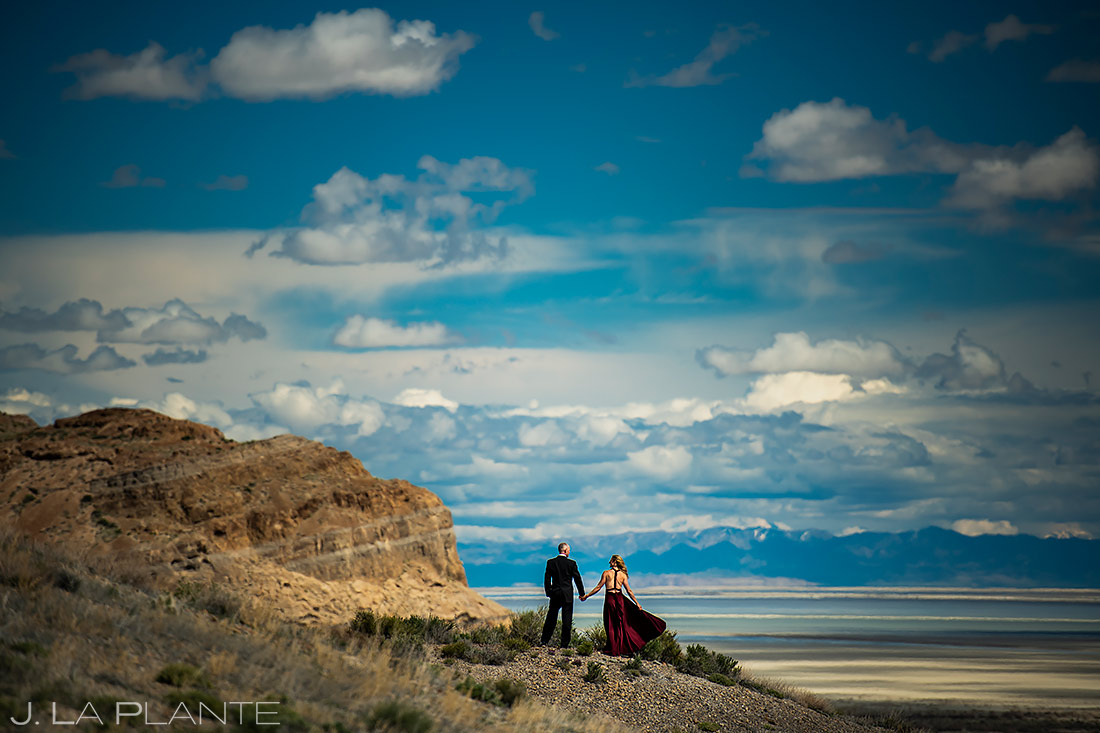 Bride and Groom To Be | Utah Engagement | Destination Wedding Photographer | J. La Plante Photo