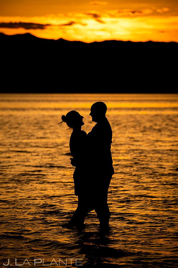 Sunset Engagement Photo | Utah Engagement | Destination Wedding Photographer | J. La Plante Photo