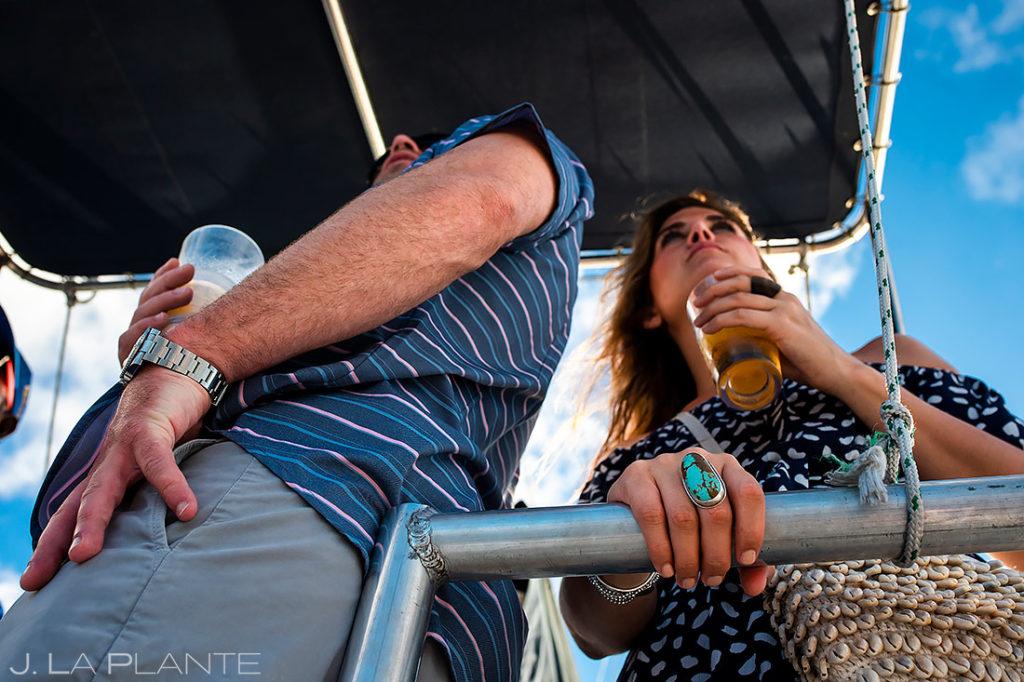 Sunset Catamaran Cruise | St Lucia Wedding | Destination Wedding Photographer | J. La Plante Photo