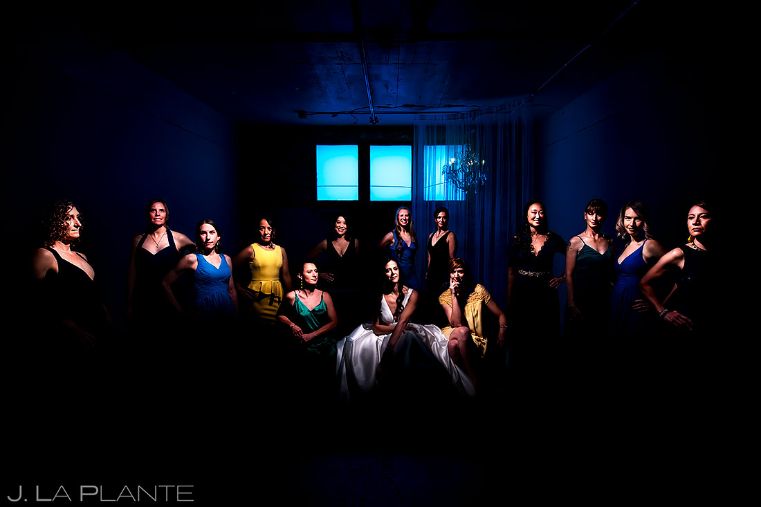 Bridesmaids Portrait | St Vrain Wedding | Boulder Wedding Photographer | J. La Plante Photo