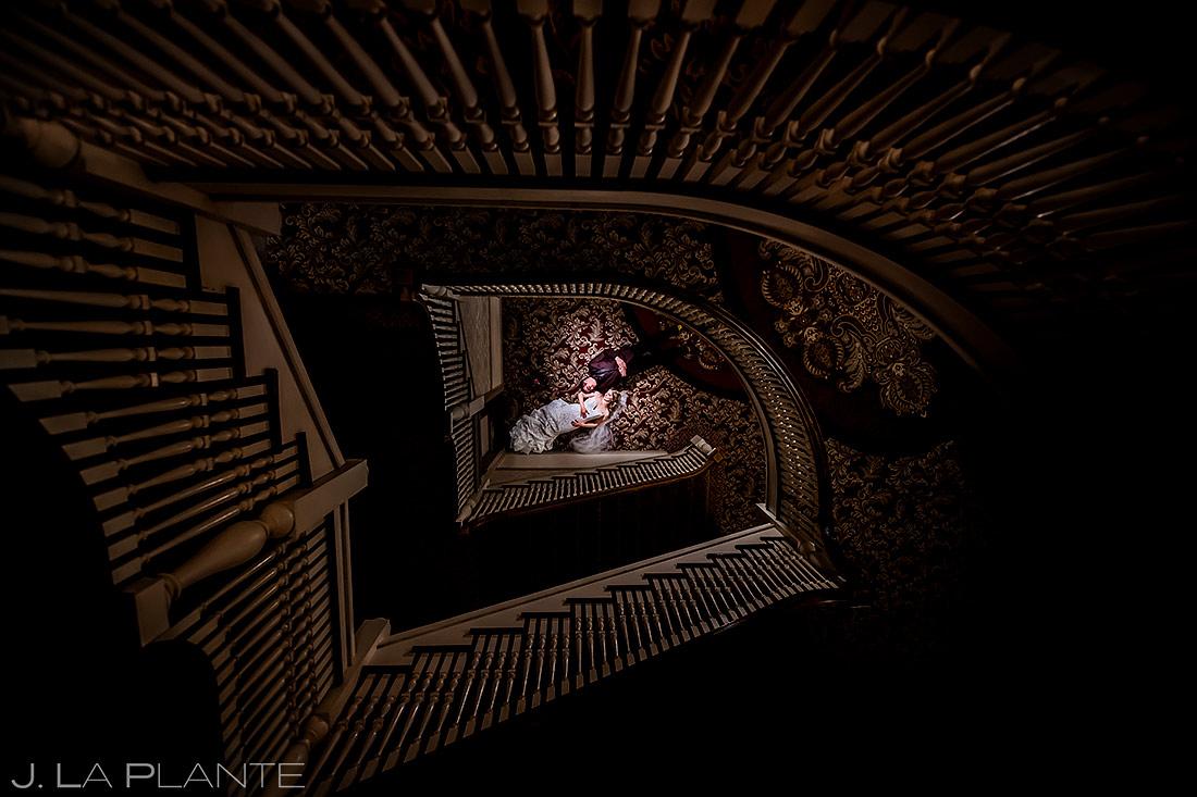 Bride and Groom Portrait | Stanley Hotel Wedding | Estes Park Wedding Photographer | J. La Plante Photo