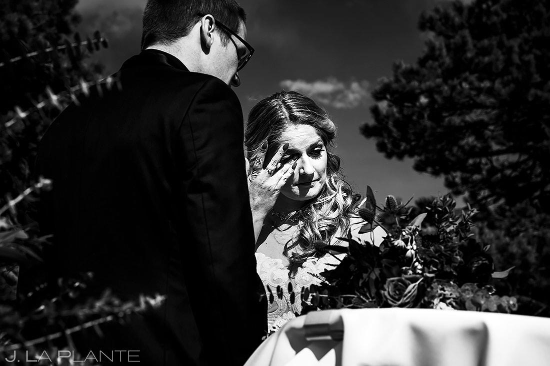 Mountain Wedding Ceremony | Stanley Hotel Wedding | Estes Park Wedding Photographer | J. La Plante Photo