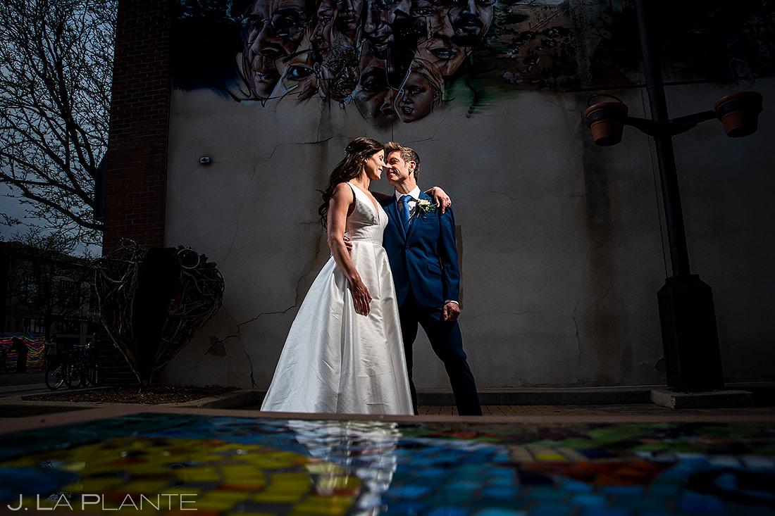 Bride and Groom Portrait | St Vrain Wedding | Boulder Wedding Photographer | J. La Plante Photo