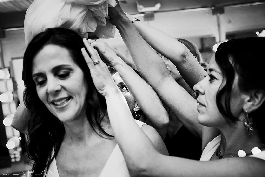 Bridal Veil | Longmont Wedding | Boulder Wedding Photographer | J. La Plante Photo