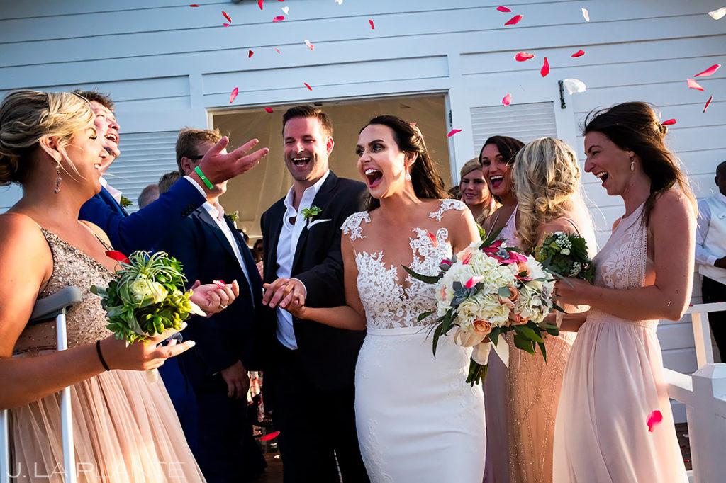 Beach Wedding Ceremony | St Lucia Wedding | Destination Wedding Photographer | J. La Plante Photo