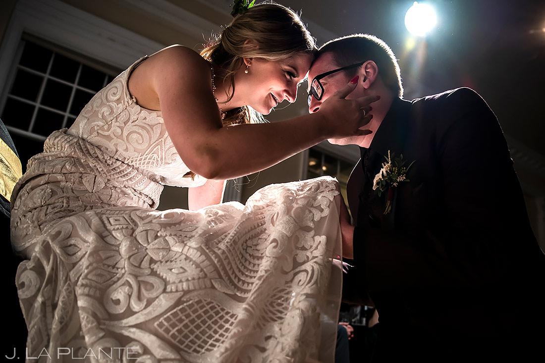 Garter Toss | Stanley Hotel Wedding | Estes Park Wedding Photographer | J. La Plante Photo