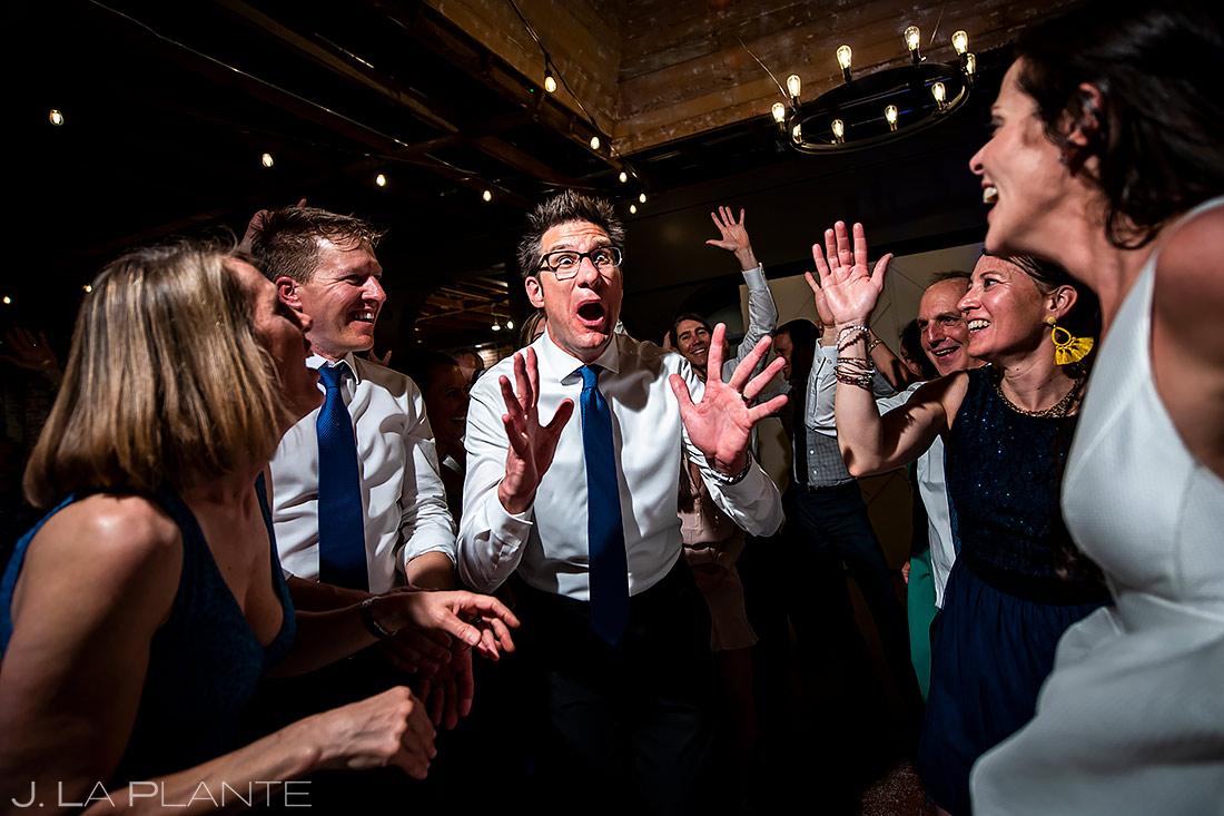 Wedding Reception Dance Party | St Vrain Wedding | Boulder Wedding Photographer | J. La Plante Photo