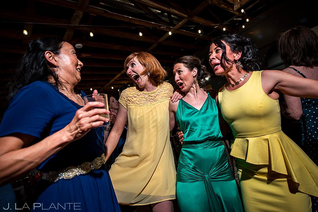 Wedding Reception Dance Party | Longmont Wedding | Boulder Wedding Photographer | J. La Plante Photo