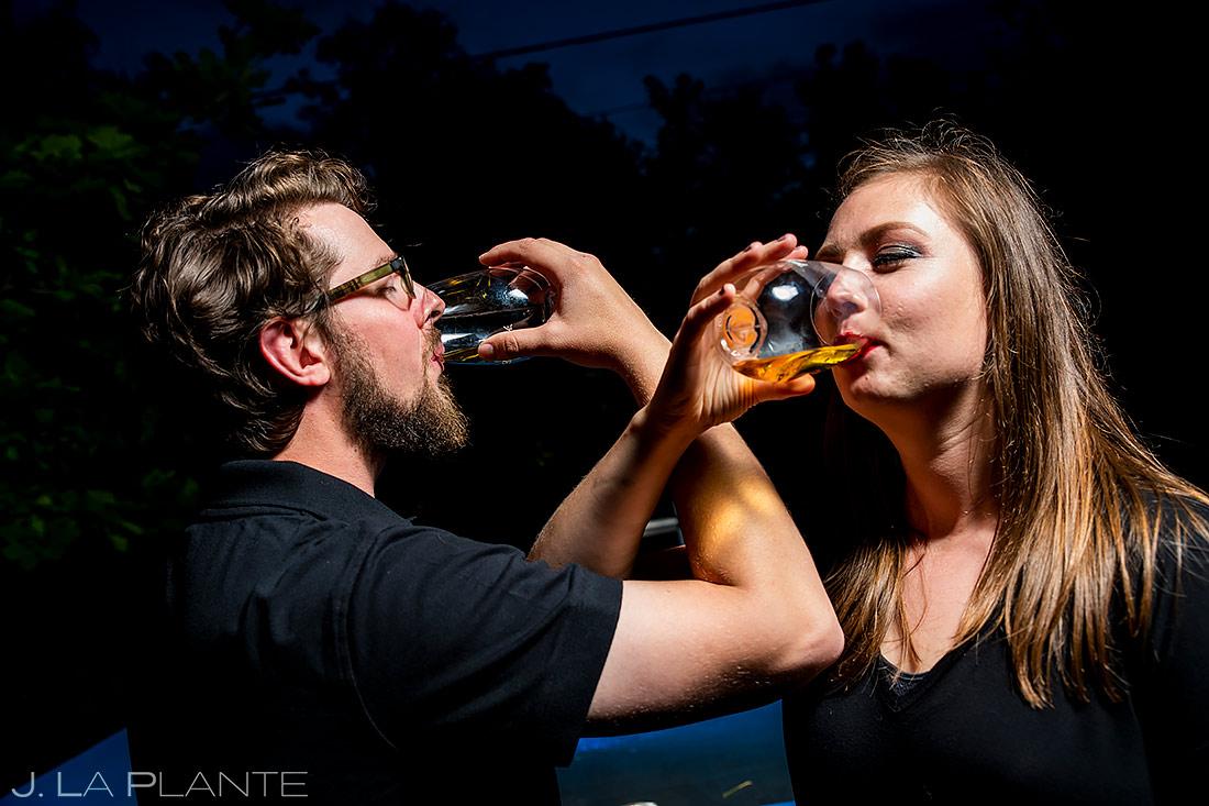 Cool Engagement Photo Ideas | Holi Powder Engagement | Boulder Wedding Photographers | J. La Plante Photo