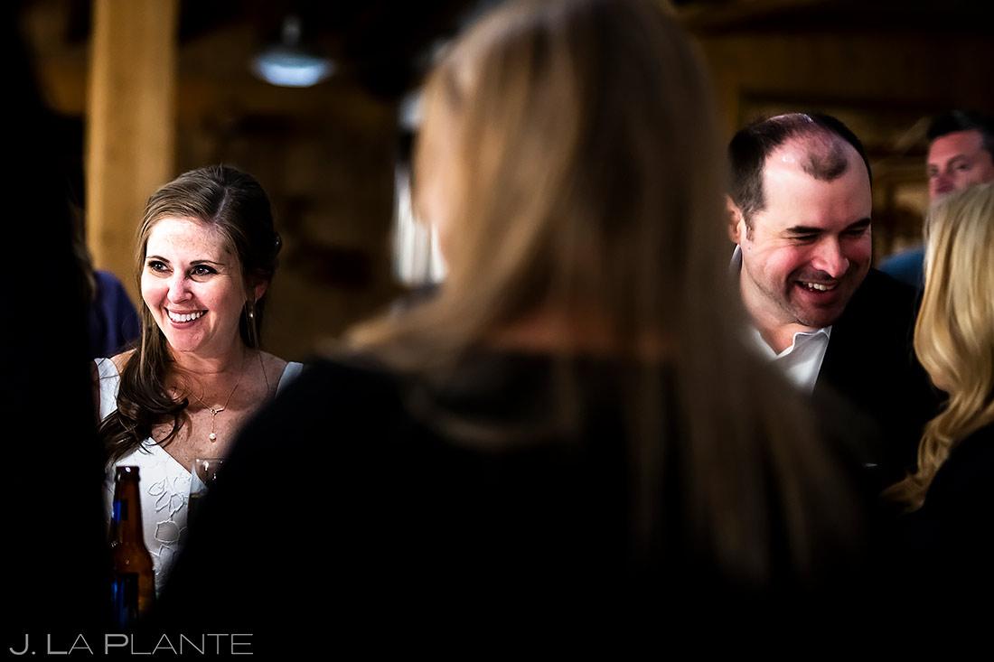 Wedding Cocktail Hour   Tenmile Station Wedding   Breckenridge Wedding Photographer   J. La Plante Photo