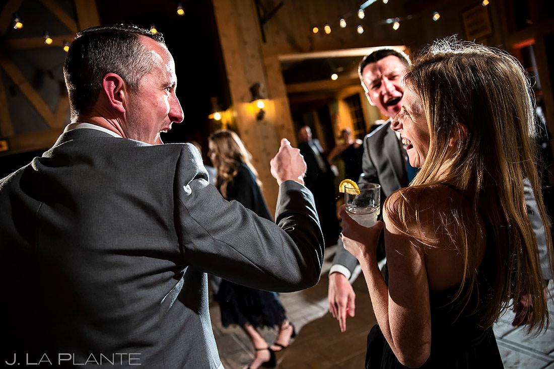 Wedding Reception Dance Party   Breckenridge Wedding   Breckenridge Wedding Photographer   J. La Plante Photo