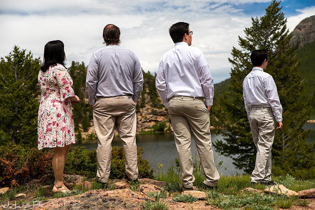 Wedding Guests | Lily Lake Wedding | Estes Park Wedding Photographer | J. La Plante Photo