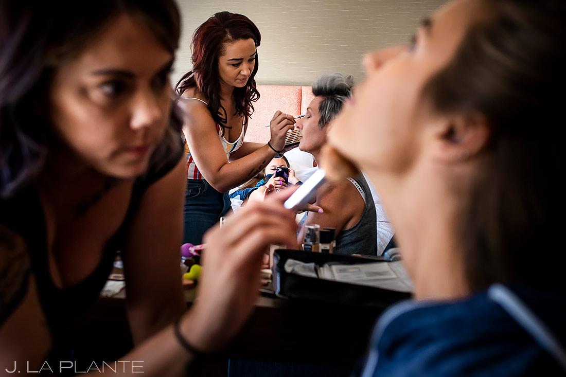 Bridesmaids Getting Ready | Lionsgate Event Center Wedding | Boulder Wedding Photographer | J. La Plante Photo