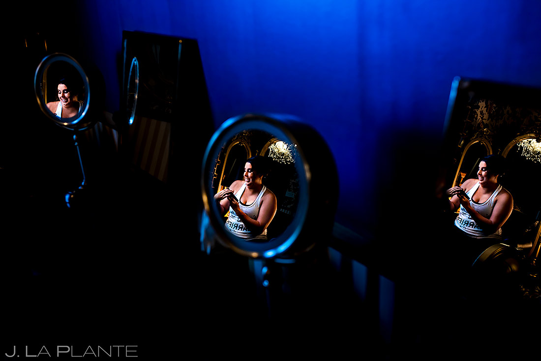Bride Getting Ready | Lafayette Colorado Wedding | Boulder Wedding Photographer | J. La Plante Photo