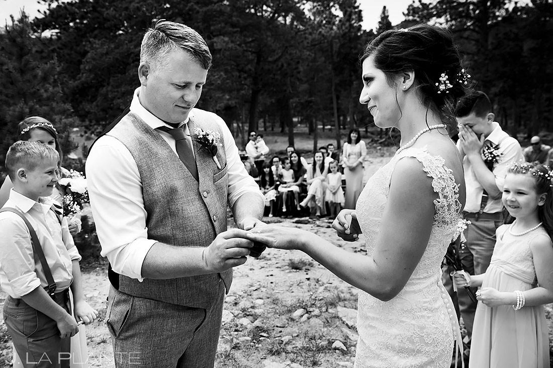 Wedding Rings | Lily Lake Wedding | Estes Park Wedding Photographer | J. La Plante Photo