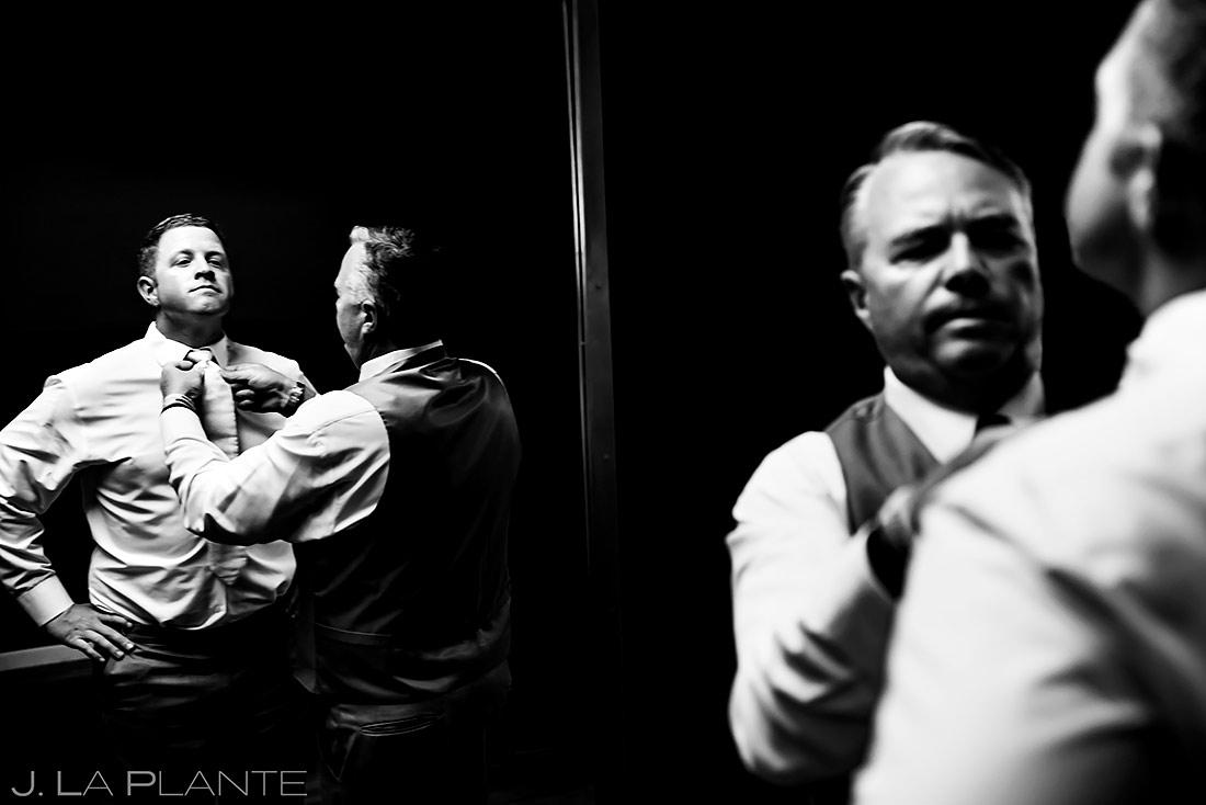 Groom Getting Ready | Lionsgate Event Center Wedding | Boulder Wedding Photographer | J. La Plante Photo