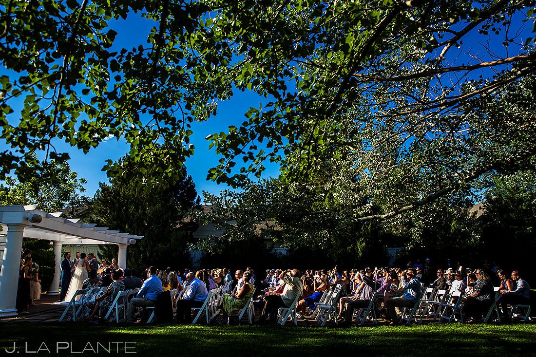 Outdoor Wedding Ceremony | Lionsgate Event Center Wedding | Boulder Wedding Photographer | J. La Plante Photo